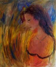 Original Art Evelino Oil Canvas Painting Contemporary  Hand Paint Prize Painter
