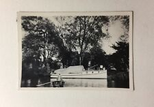 Vintage Real Photograph / Postcard - #G - Unknown Yacht & Row Boat