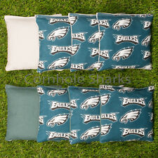 Cornhole Bean Bags Set of 8 ACA Regulation Bags Philadelphia Eagls Free Shipping