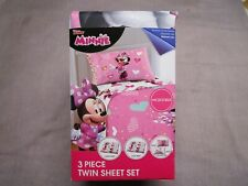 Disney Jr Minnie Mouse Twin Sheet Set