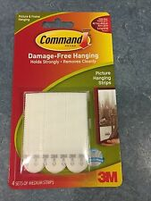 3M Command medium picture hanging strips Damage Free