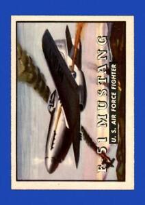 1952 Topps Wings Set Break # 5 F-51 Mustang NR-MINT *GMCARDS*