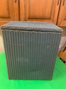 Vintage Lusty and Sons Lloyd loom Laundry basket VGC Original Collection from N8