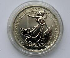 2018 Britannia 2 Pounds £2 Silver 1oz Coin