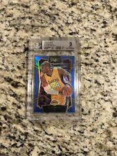 2015-16 PANINI SELECT Kobe Bryant BGS 9 BLUE HOLO PRIZMS /249  REFRACTOR PSA 10?