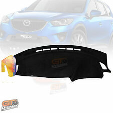 DASH MAT MAZDA CX5 CX-5 with Passenger AIRBAG 2012-1/2017 DM1260 in BLACK +CHARC