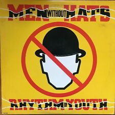 Men Without Hats - Rhythm of Youth - vinyl record LP synth pop  MCA-5436 VG+