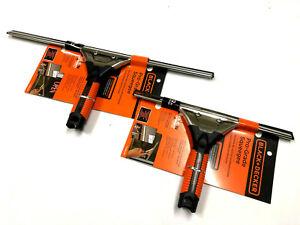 Black & Decker Professional Grade Squeegee Window Blade wiper 18 Inch or 12 inch