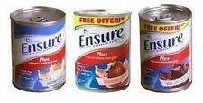 Ensure Plus 8 Oz Combo 8 cans of Chocolate/Vanilla/Strawberry 24/Case *NEW DEAL*
