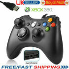 USB Wired Xbox 360 Controller Shaped Game Controller Gamepad For PC Windows UK