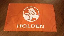 HOLDEN ORANGE FLAG BANNER 3X5FT COMMODORE SVX MONARO GARAGE MANCAVE