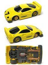 1992 TYCO TCR Wide Pan FERRARI LEMON GT F-40 F40 Slot less Car UNUSED Sharp! A++