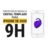Sentete® iPhone SE 2020 Protector Pantalla Cristal Templado PREMIUM