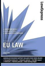 Law EU Law Adult Learning & University Books in English
