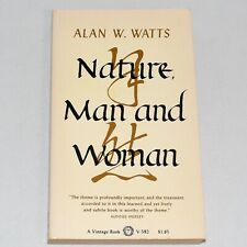 Nature Man and Woman Alan W Watts Softcover 1970