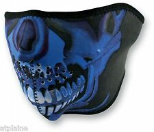 MASQUE NEOPRENE ZAN HEADGEAR BLUE SKULL Taille unique