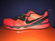NIKE DUAL FUSION TRAIL sz 10 Running Hiking Shoes 652867 601 Crimson Red SAMPLE