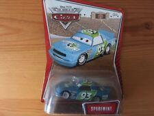 DISNEY PIXAR CARS - SPAREMINT #93 - PISTON CUP RACE CAR - NEW - RARE WOC PACK