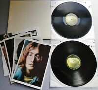 The Beatles - White Album UK 1970's Apple DBL LP with Poster & Photographs