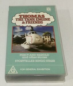 Thomas The Tank Engine VHS Percy And Harold And Other Stories Ringo Starr ABC