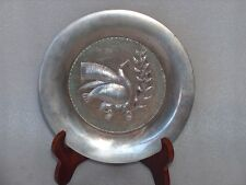 VINTAGE SILVER(830) PLATE PRIZE AWARD TROPHY? IN ORIGINAL LUXURY BOX