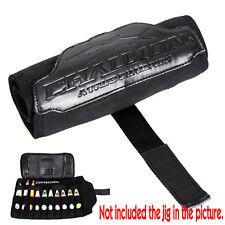 Fishing Roll Jig Bag Neoprene Portable Metal Jigging Lure Case Holder Black