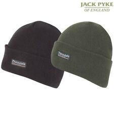 e6137362f85 JACK PYKE MENS BEANIE BOB HAT THINSULATE THERMAL FLEECE LINING ARMY  COLDWEATHER