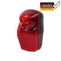 LED Schutzblech Fahrrad Rücklicht Reflektor incl. 2 AAA Batterien STVZO K1353