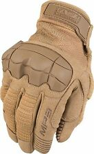 "Mechanix ""AUTHENTIC"" Molded Thermal Plastic Rubber Knuckle Guard TAN M-Pact III"