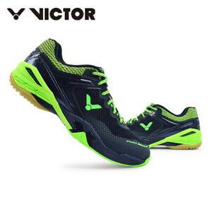 Victor Badminton Shoes Unisex Black Racquet Racket Indoor Shoes P9210 CG