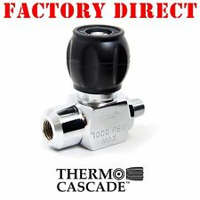 Thermo Cascade High Pressure Line Valve 7000psi Scuba Paintball PCP | Flow M - F