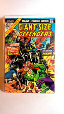 #2 Giant Size Defenders 1970s Marvel Comic Book- Fine (Gs-Df-2)