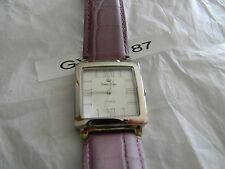 Premier Designs ELIZABETH purple leather watch gorgeous! RV $68 FREE ship