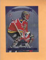 1997 98 DONRUSS LIMITED JOHN VANBIESBROUCK COUNTERPARTS #113 FLORIDA PANTHERS