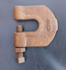 """Vintage C-Clamp Machinists Clamp 3/8"""" (11/16"""" Opening) Bolt Adjuster"""