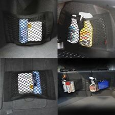 For Lexus Trunk Cargo Net 40cm x 25cm Car Vehicle Seat Back Storage Mesh Net Bag