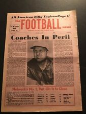 1971 Football News DENVER Broncos LOU SABAN Oklahoma Sooners #2 NEBRASKA #1