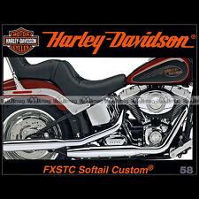 HARLEY-DAVIDSON N°58 ★ FXSTC 1584 SOFTAIL CUSTOM ★ GOLD DIGGER DAVE COOK GT HD