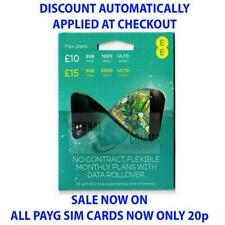 PAYG EE FLEX SIM CARD - NO CONTRACT *NOW ONLY 20p* DISCOUNT APPLIED AT CHECKOUT