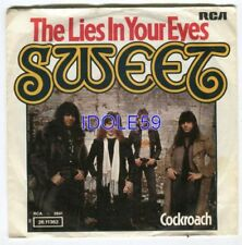 Disques vinyles rock 45 tours The Sweet