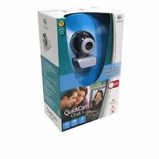 Camara Web CMOS Logitech QuickCam Chat WeBCam cif calidad 352x288