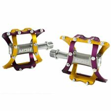 MDH Lightweight  Alloy CNC Body Pedals , PVB03 , Purple x Gold