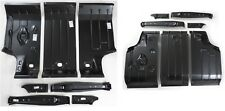 Trunk Floor Kit GTO 64-67 7PC 442 Skylark Cutlass 7 PC Panel Pan Brace