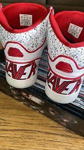 Slayer Vans Owens Rare Sz 10 Thrash Promo Kerry King skate Vtg Supreme Metallica