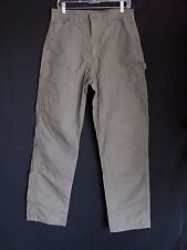 Carhartt NEW Lt Brown Dungaree Fit Double Front Cotton Pants  Men's 31 x 34  V36