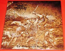 Darkthrone: The Underground Resistance LP Black Vinyl Record 2013 Peaceville NEW