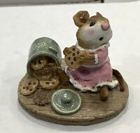 "Wee Forest Folk: ""Caught In The Act"" Cookie Jar, Collectible, M-209"