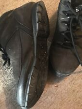 Timberland Boots Black Suede Size 8 Used But In Good Condition.
