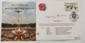 Great Britain Cover SIGNED -  75th anniversary of the royal British legion