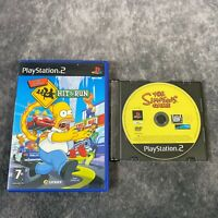 The Simpsons Hit & Run + The Simpsons Game PS2 PlayStation 2 PAL Game Bundle